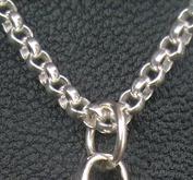 Ärtlänk armband i silver